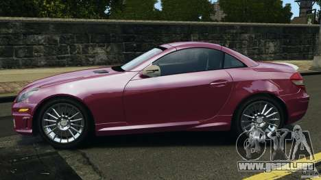 Mercedes-Benz SLK 55 AMG 2010 para GTA 4 left