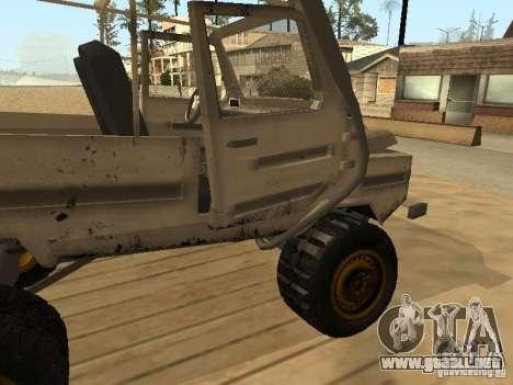 LuAZ 969 Offroad para GTA San Andreas interior