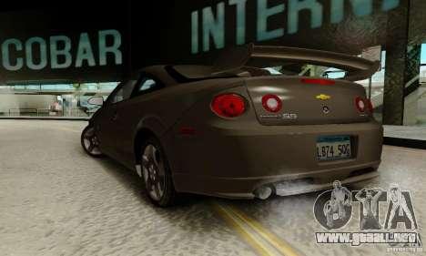 Chevrolet Cobalt SS para GTA San Andreas left