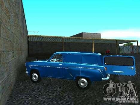 Moskvich 429 para GTA San Andreas vista posterior izquierda