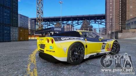 Chevrolet Corvette C6R GT1 para GTA 4 left