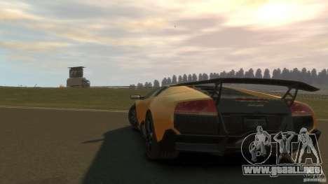 Lamborghini Murcielago VS LP 670 FINAL para GTA 4 visión correcta