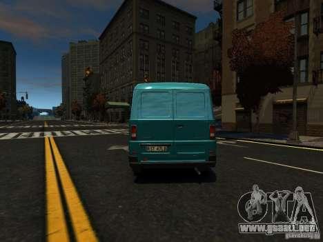 Daewoo Lublin 3 2000 para GTA 4 vista hacia atrás