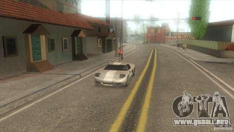 Carretera de calidad en el LS para GTA San Andreas tercera pantalla