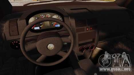 Volkswagen Polo Edit para GTA 4 vista superior