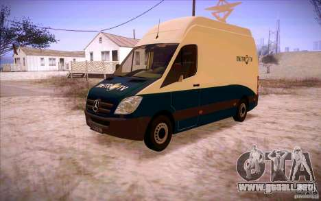 Mercedes Benz Sprinter 311 CDi para GTA San Andreas left