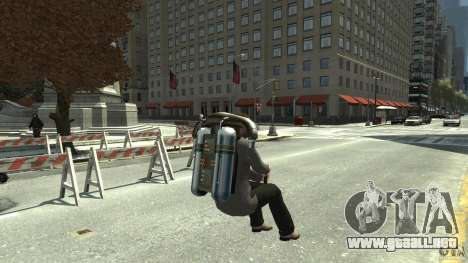 Jetpack para GTA 4 visión correcta