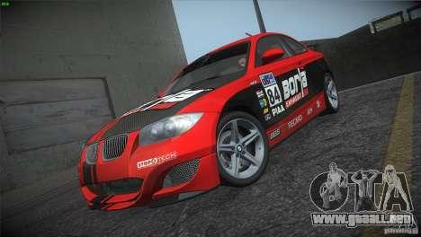 BMW 135i Coupe Road Edition para vista inferior GTA San Andreas