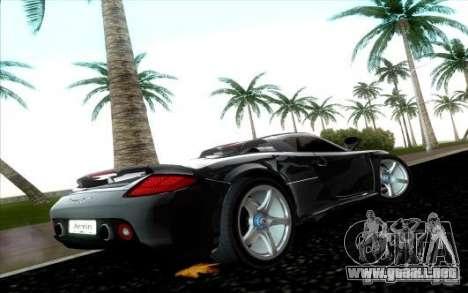 Porsche Carrera GT para GTA Vice City visión correcta