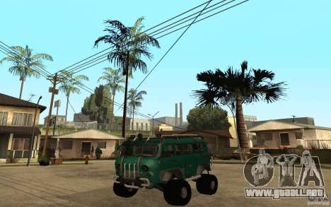 Pan UAZ duro todoterreno para GTA San Andreas