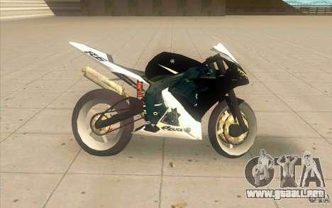 Yamaha Copbike Beta para GTA San Andreas left