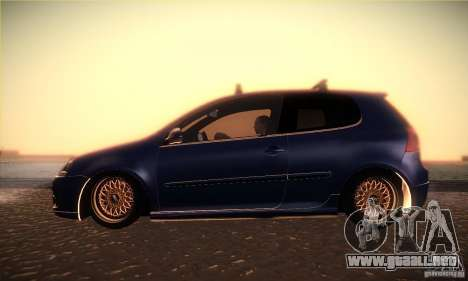 Volkswagen Golf Mk5 GTi para GTA San Andreas left
