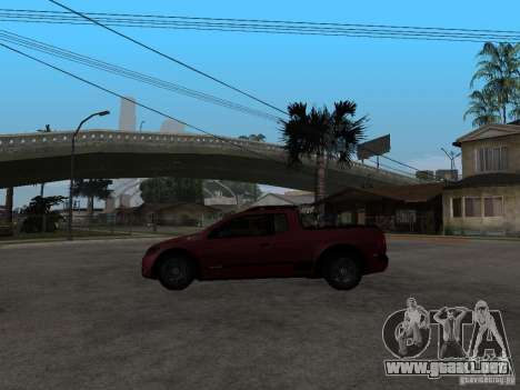 Volkswagen Saveiro Trooper CE para GTA San Andreas left