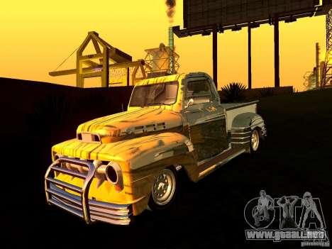 Ford Pick Up Custom 1951 LowRider para la visión correcta GTA San Andreas
