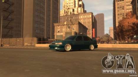 Daewoo Nexia Tuning para GTA 4 Vista posterior izquierda