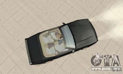 Chevrolet Camaro RS 1991 Convertible para la visión correcta GTA San Andreas
