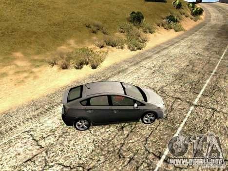 Toyota Prius Hybrid 2011 para GTA San Andreas left