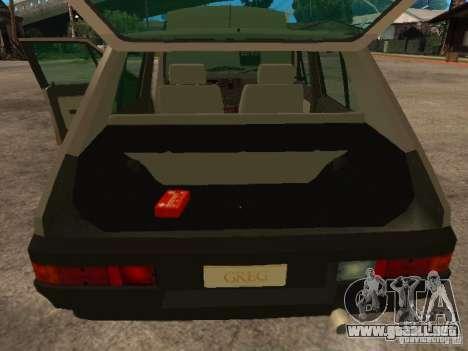 Fiat Ritmo para vista lateral GTA San Andreas