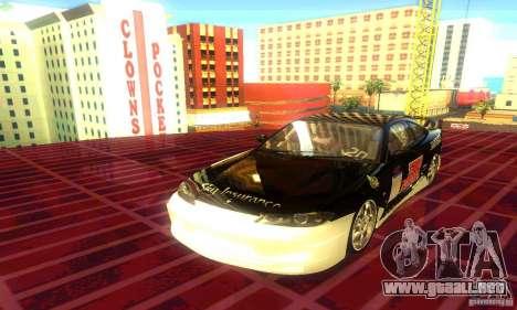 Nissan Silvia S15 8998 Edition Tunable para GTA San Andreas vista hacia atrás
