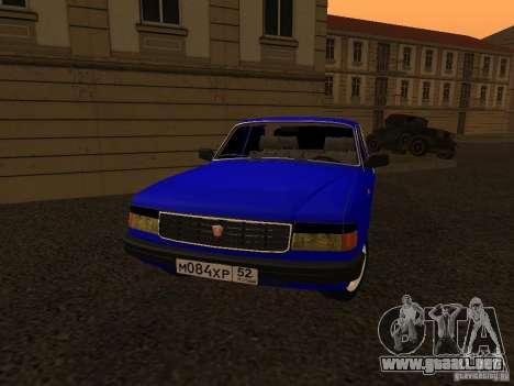 Volga GAZ 31029 para la visión correcta GTA San Andreas