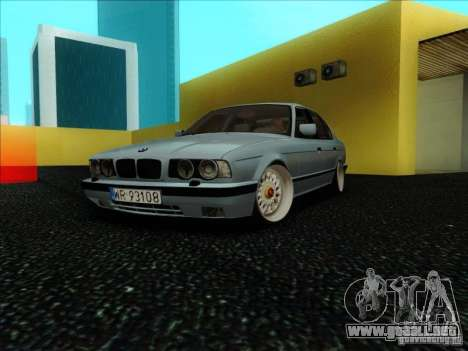 BMW 5 series E34 para GTA San Andreas
