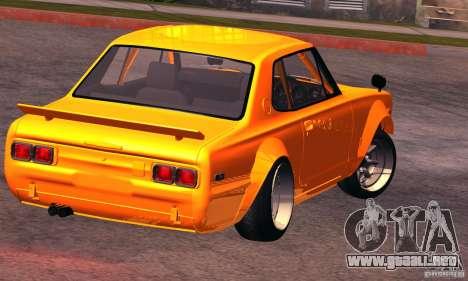 Nissan GT-R 2000 para GTA San Andreas left