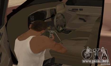 Chevrolet Suburban para vista inferior GTA San Andreas