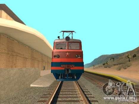 Vl10-1472 para GTA San Andreas vista hacia atrás