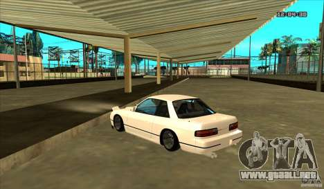 Nissan Silvia S13 Old School para GTA San Andreas left