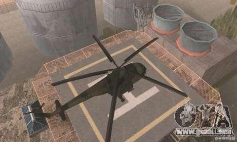 MI-17 para la visión correcta GTA San Andreas