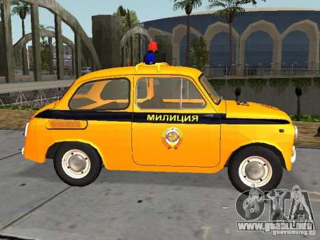 Policía soviética ZAZ-965 para GTA San Andreas left