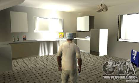 Nuevas casas de seguridad interiores para GTA San Andreas quinta pantalla