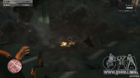 First Person Shooter Mod para GTA 4 novena de pantalla
