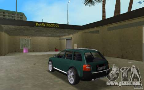 Audi Allroad Quattro para GTA Vice City vista lateral izquierdo