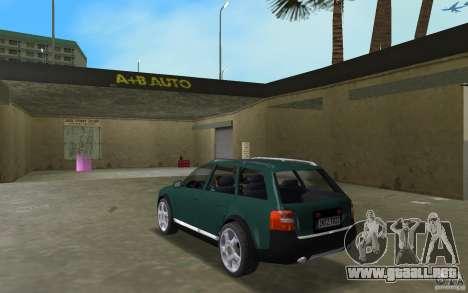 Audi Allroad Quattro para GTA Vice City vista lateral izquierdo