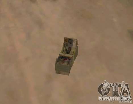 Dinero kazajo para GTA San Andreas segunda pantalla