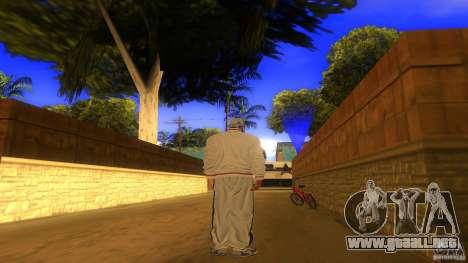 BrakeDance mod para GTA San Andreas sucesivamente de pantalla