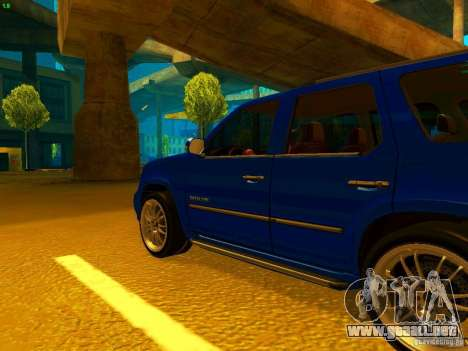 Cadillac Escalade para GTA San Andreas left