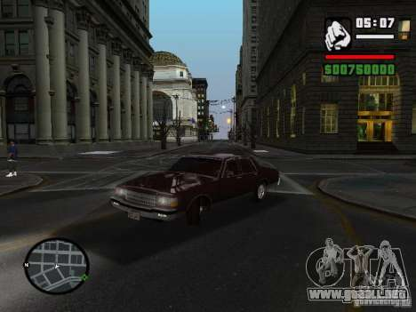 Chevrolet Caprice Classic 87 para GTA San Andreas