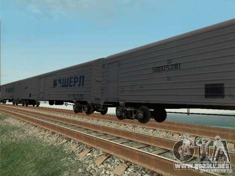 Vagón de carga para GTA San Andreas left