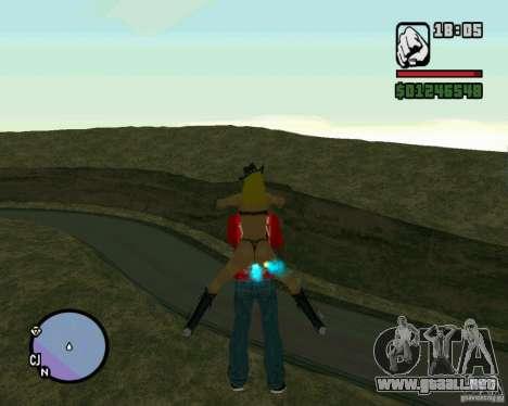 Ebisu Touge para GTA San Andreas sucesivamente de pantalla