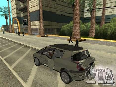 Renault Avantime para GTA San Andreas vista hacia atrás