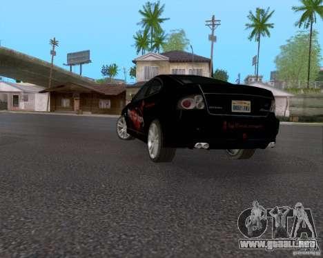 Vauxhall Monaco VX-R para vista inferior GTA San Andreas