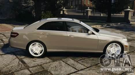 Mercedes-Benz E63 AMG para GTA 4 left
