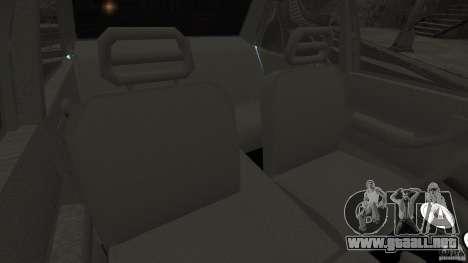 Tofas Dogan SLX EmreAKIN Edition para GTA 4 vista interior