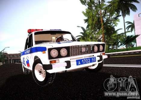 2106 VAZ policía v 2.0 para GTA San Andreas