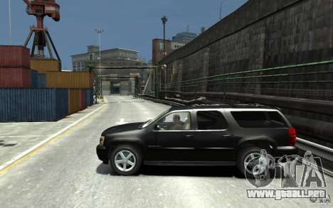 Chevrolet Suburban 2008 (beta) para GTA 4 left