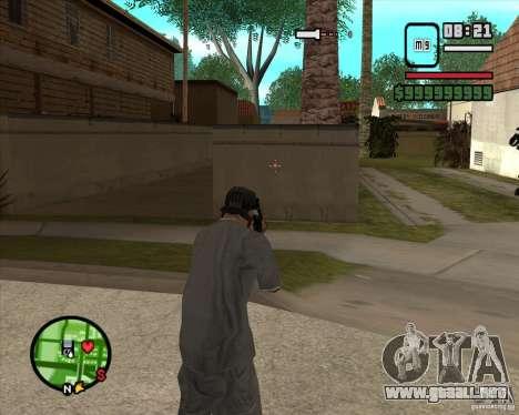 Campanas y silbatos para armas para GTA San Andreas quinta pantalla