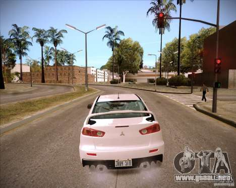ENBSeries by slavheg para GTA San Andreas sucesivamente de pantalla