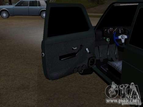 Lada Niva 21214 Tuning para visión interna GTA San Andreas